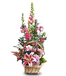 Rectangular Flower Basket