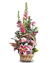 Rectangular Flower Basket