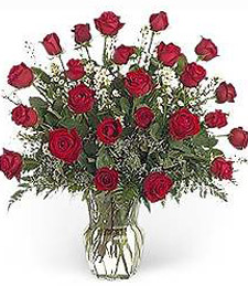 2 Dozen Red Roses -- Christmas
