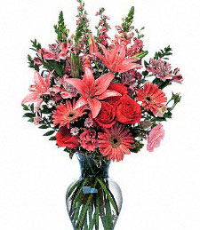 Its Time to Flirt Valentine's Day Bouquet