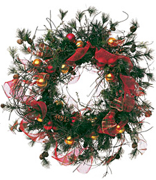 Permanent Christmas Wreath