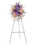 Flowers of Iris Standing Spray