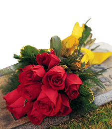 Remember Me Forever Gravesite Bouquet
