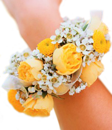 Light and Lovely Corsage