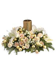 Holiday Elegance Centerpiece