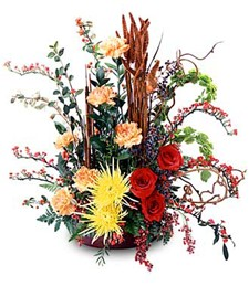 Indian Summer Arrangement
