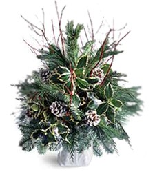 Evergreen Christmas Arrangement