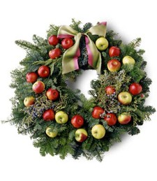 Holiday Tidings Thanksgiving Wreath