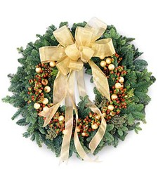 Joys of the Season Wreath