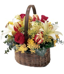 Hidden Treasures Basket
