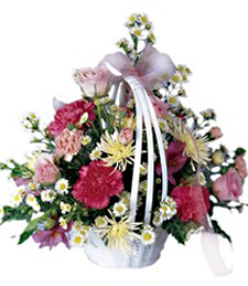 Sweet Sentiments Thinking of You Basket