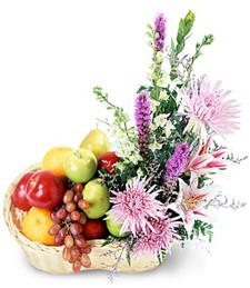 Fruitful Abundance Congratulations Basket