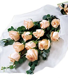 Delightful Dozen Lovers' Rose Bouquet