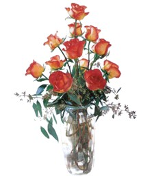 Contemporary Rose Get Well Bouquet