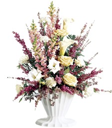Blooming Elegance Sympathy Arrangement