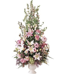 Simply Restful Funeral Arrangement