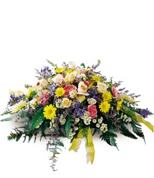 Heavenly Scented Funeral Casket Spray