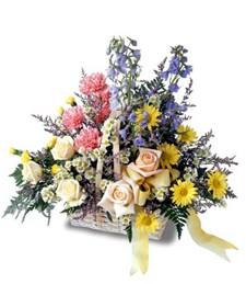 Floral Festival Basket