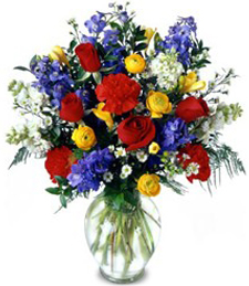FlowerDelivery.com coupon: Floral Jewels Arrangement