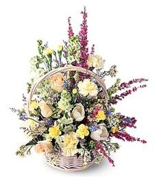 Floral Exuberance Basket