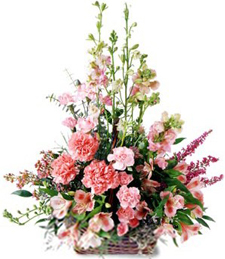 Exquisite Memorial Funeral Basket