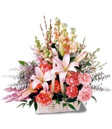 Fresh Breeze Funeral Bouquet