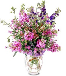 Purple Blast Thinking of You Bouquet