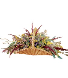 Graceful Garden Funeral Basket