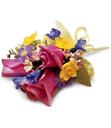 Effervescent Day Corsage