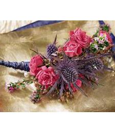 Desert Rose Corsage