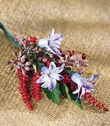 The French Tower Boutonniere