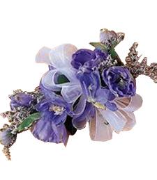 Parisian Purple Corsage
