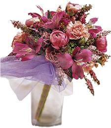 Sparkle Pink Prom Bouquet