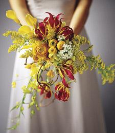 Modern Marigold Bouquet