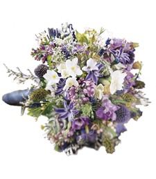 Lavender Cascade Bouquet