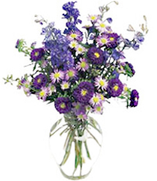 Soothing Waters Sympathy Bouquet