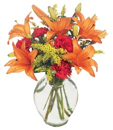 Tigress Fall Flower Bouquet