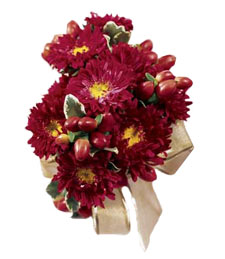 Red Passion Boutonniere