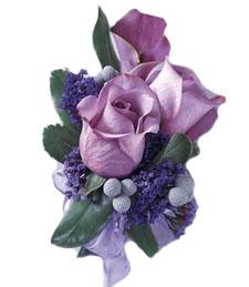 Lavender Sentiments Boutonniere