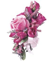 Hot Pink Romance Corsage