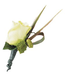 Elegant Couture Boutonniere