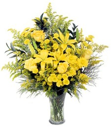 Brimming Yellows Bouquet