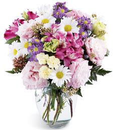 FlowerDelivery.com coupon: Purity Bouquet