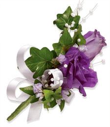 Purple Daze Corsage