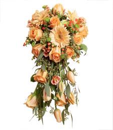 I'm So Peachy Wedding Bouquet