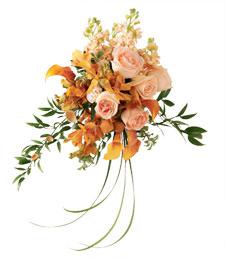 Graceful Sunrise Wedding Bouquet