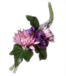 Light and Elegant Boutonniere