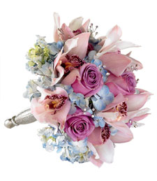 Love is in the Way Wedding Bouquet