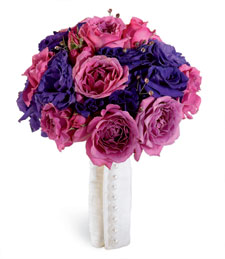 No Frills Wedding Bouquet