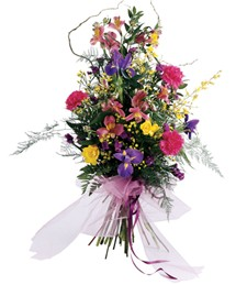 Together Forever Funeral Bouquet